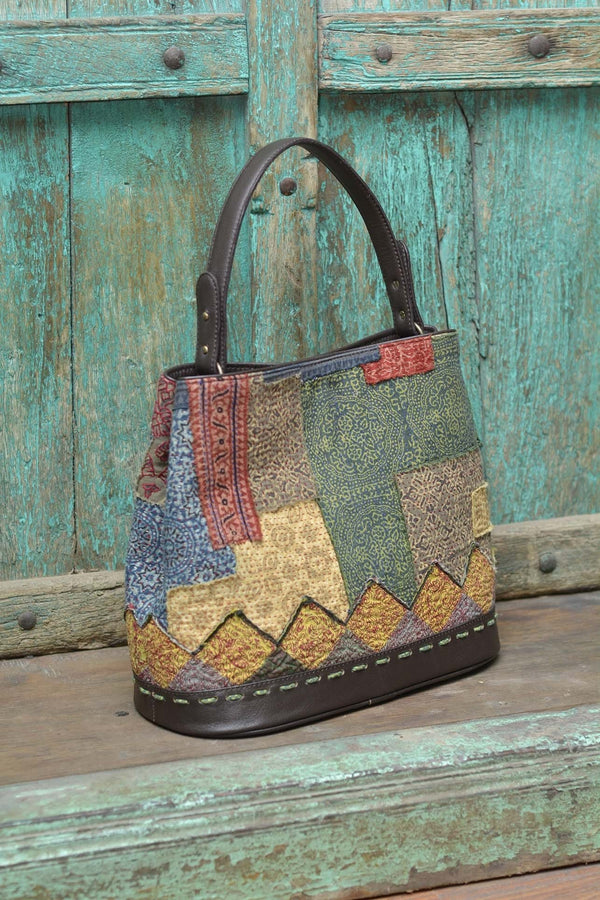 UNITED PATCHWORK BAG - SHUBINAK.COM