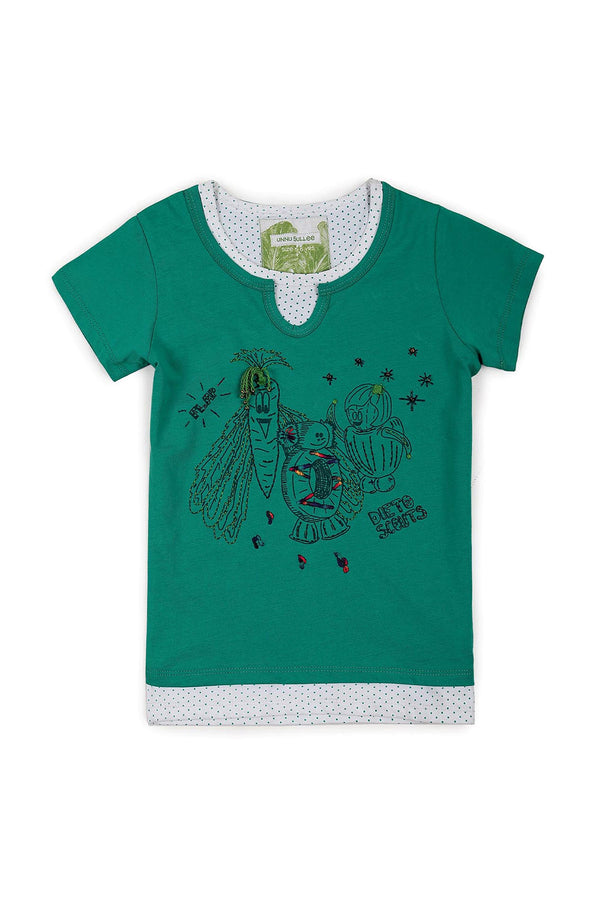 Dieto Scouts, T-Shirt (Citrus Green) - UNNUSULLEE