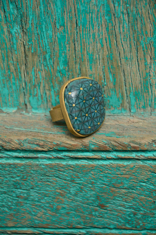 Painted Ring - SHUBINAK.COM