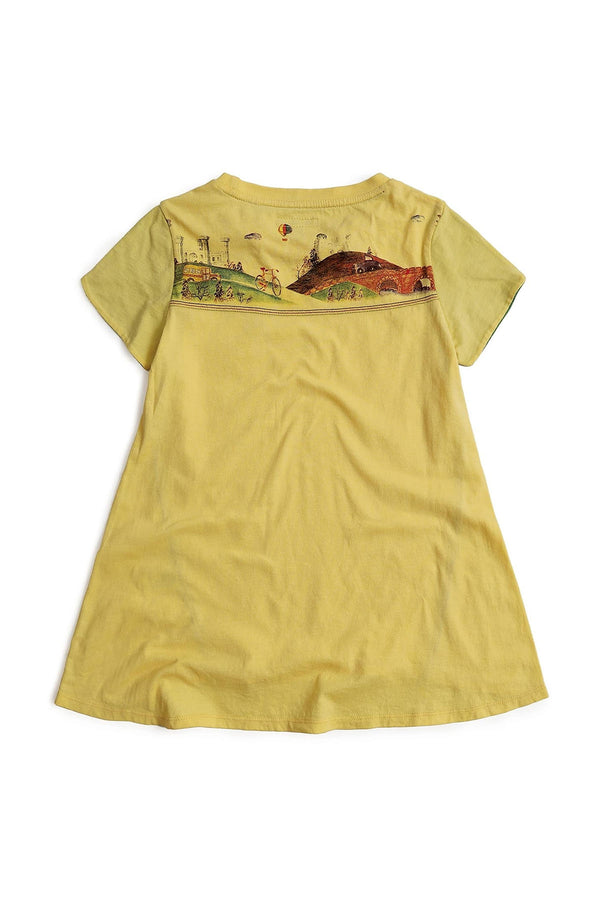 Travel Tulip Yellow Top - UNNUSULLEE