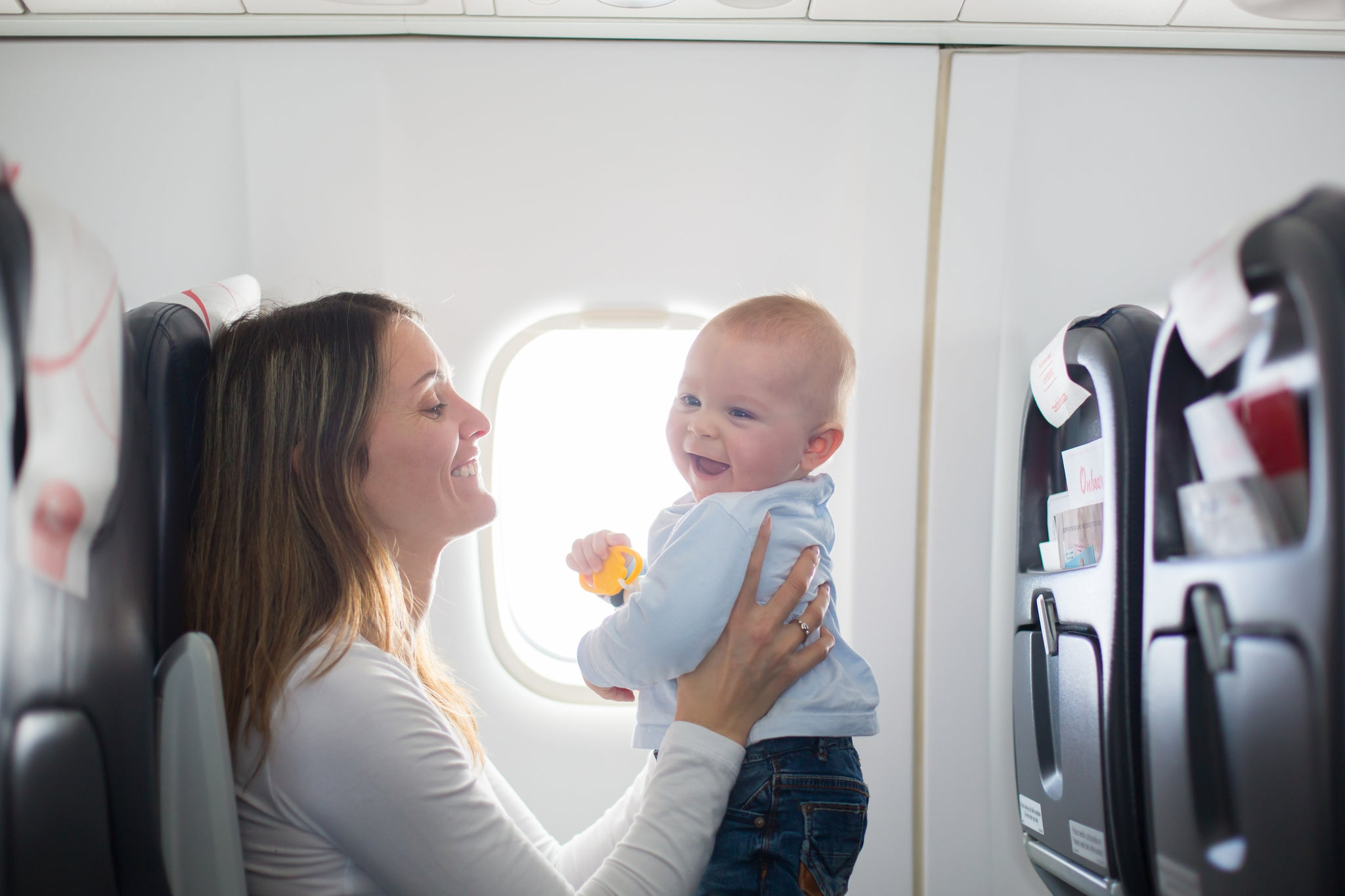 7 insider tips for flying with a baby