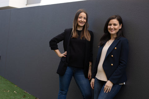 Julie and Jess, co-founders of Ben & Ellie Baby
