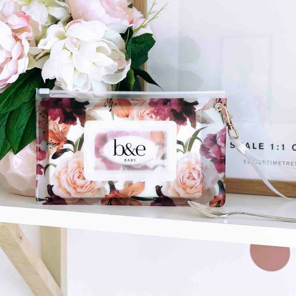 NEW!! Fleur, the Floral Wipes Pouch