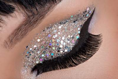 Learn how to create amazing Eye safe glitter looks!