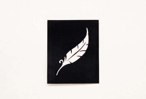 HD Stencils Feather