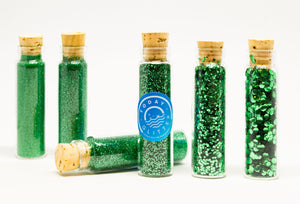 Today Glitter Mint Green is Bio-glitter Sparkle Spring Green colour