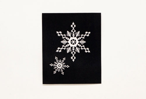 HD Stencil Snow Flake