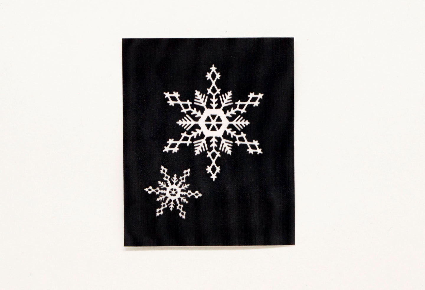 HD Stencils Snow Flake