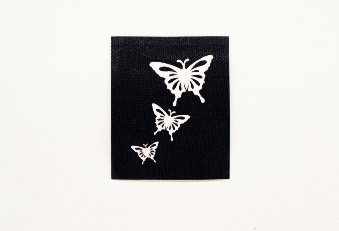 HD Stencils Three Butterflies