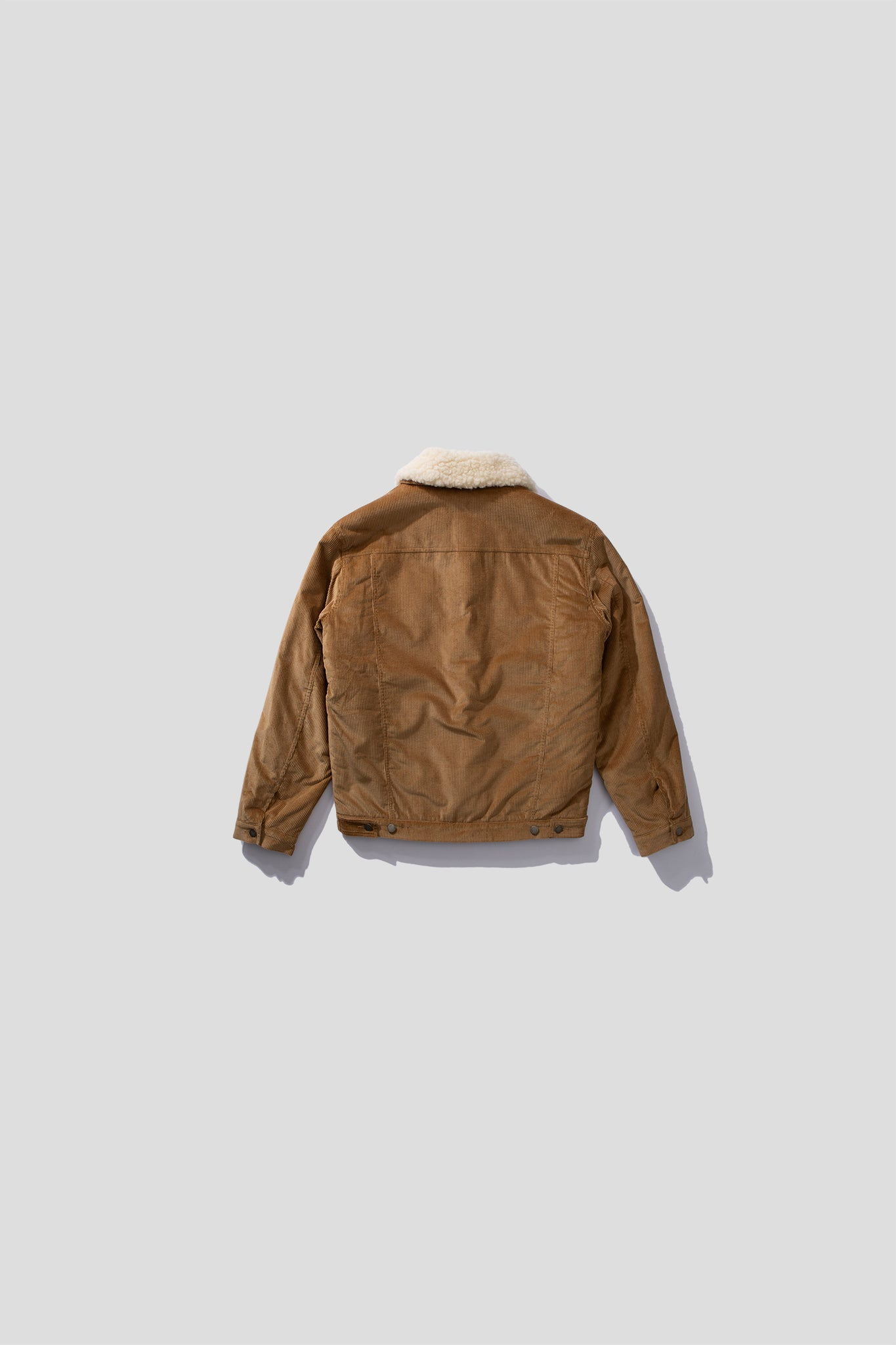 CORDUROY SHEARLING JACKET