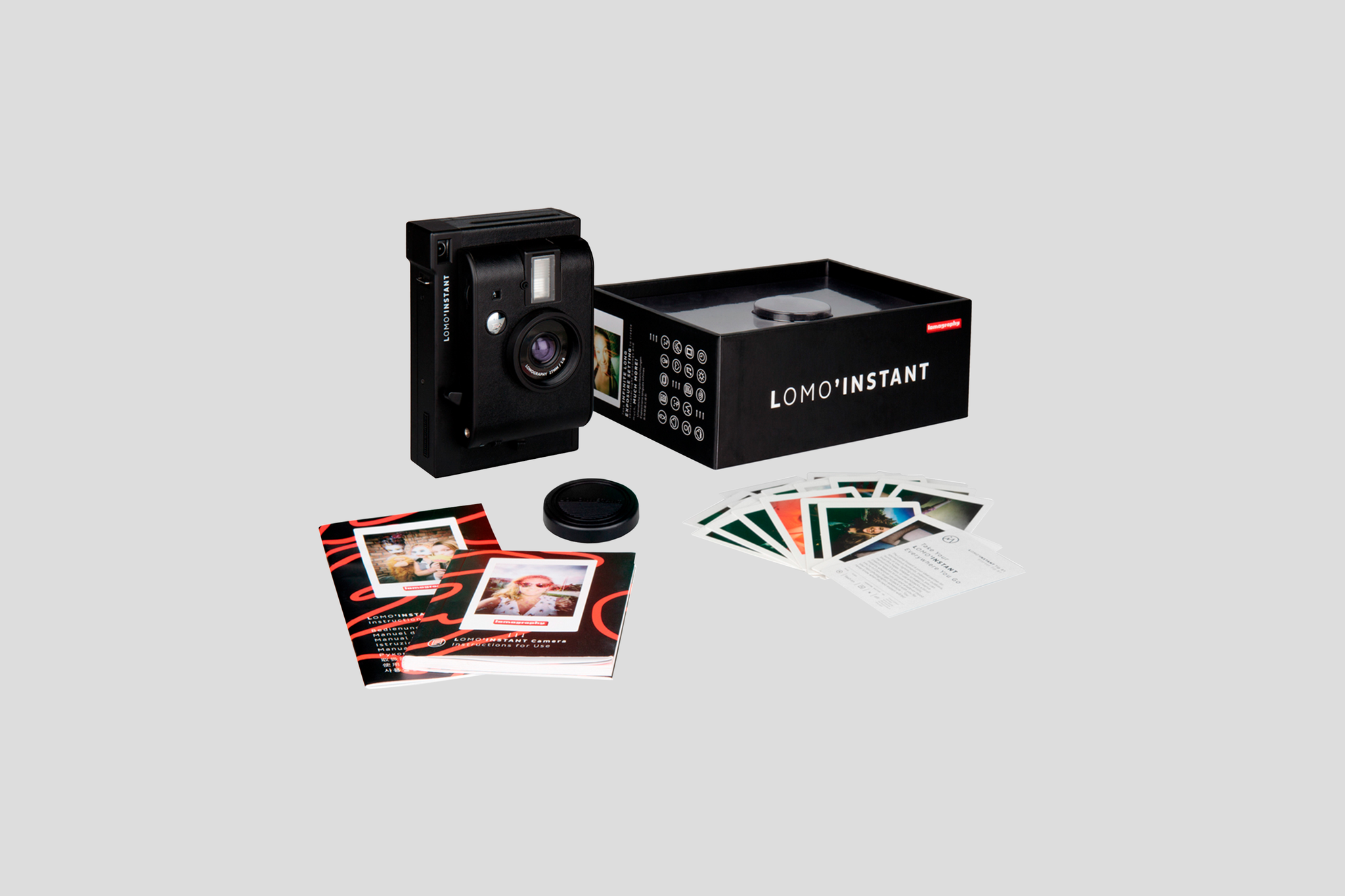 LOMOGRAPHY: LOMO'INSTANT MINI BLACK