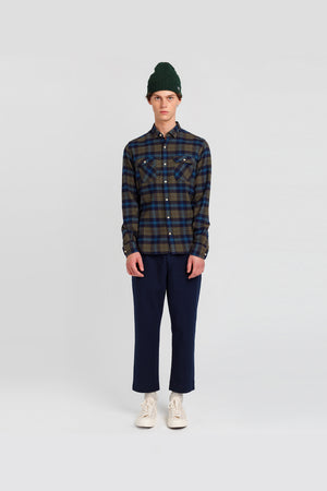 checked-khaki