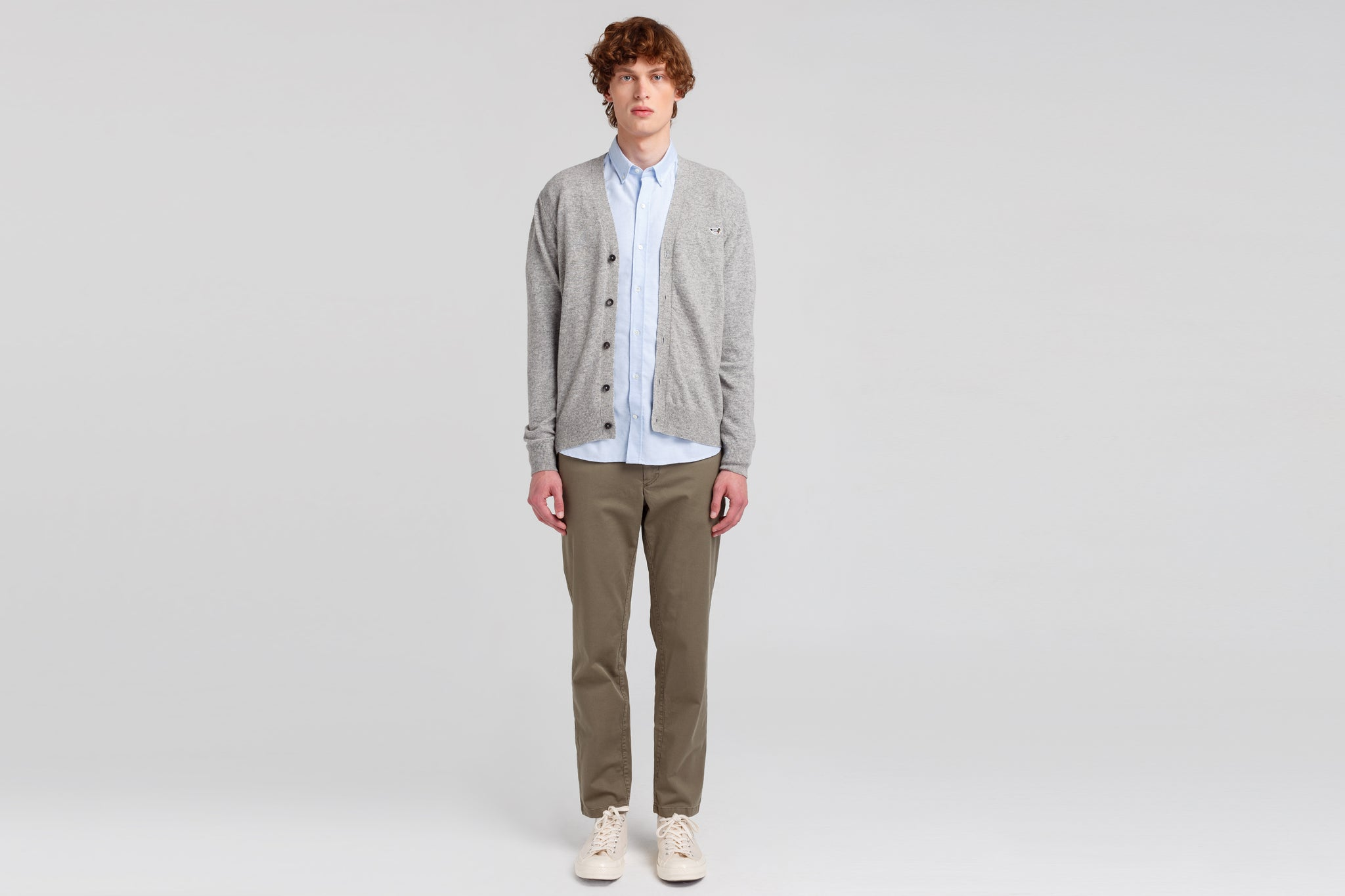 PLAIN GREY MELANGE