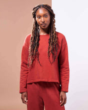 Load image into Gallery viewer, Barcelona Pullover ⁠in Organic Madder Root Red - Danu Organic