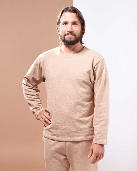 Vancouver Island Pullover in Undyed Colorganic - Danu Organic