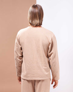 Vancouver Island Pullover in Undyed Colorganic - Healthy, Sustainable Clothes by Danu Organic