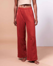 Load image into Gallery viewer, Hida Mountain Pants in Organic Madder Root Red - Healthy, Sustainable Clothes by Danu Organic