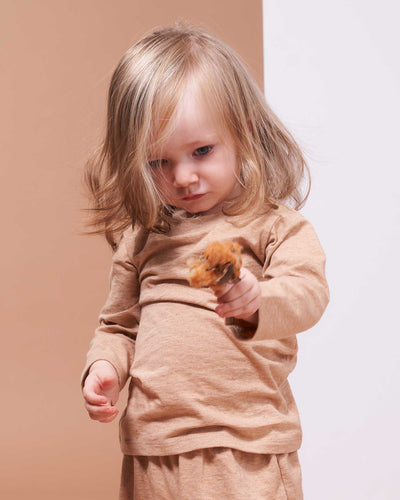 Little Long Sleeve Tee - Healthy, Sustainable Clothes by Danu Organic