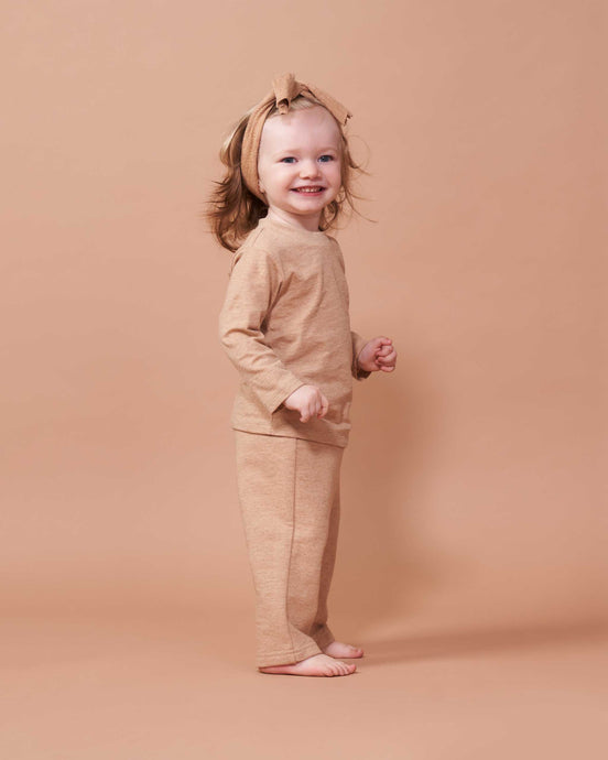 Cozy Pants in Undyed Colorganic - Healthy, Sustainable Clothes by Danu Organic