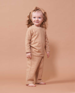 Cozy Pants in Organic Madder Root Red - Healthy, Sustainable Clothes by Danu Organic