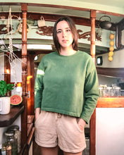 Load image into Gallery viewer, Barcelona Pullover in Verdant Green - Danu Organic