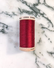 Load image into Gallery viewer, Organic Cotton Thread in Red - Healthy, Sustainable Clothes by Danu Organic