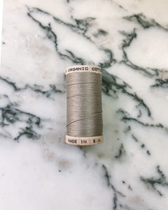 Organic Cotton Thread in Tan - Healthy, Sustainable Clothes by Danu Organic