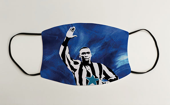 Andy Cole NUFC Geordie Face Mask Covering