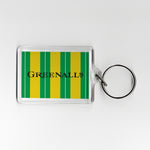 Newcastle Away Shirt 89-90 Plastic Keyring