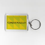 Newcastle Away Shirt 90-91 Plastic Keyring
