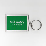 Newcastle Third Shirt 93-95 Plastic Keyring