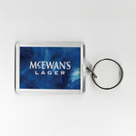 Newcastle Away Shirt 93-95 Plastic Keyring