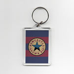 Newcastle Away Shirt 95-96 Plastic Keyring
