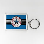 Newcastle Away Shirt 96-97 Plastic Keyring
