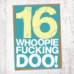 16. Whoopie Fucking Doo! Birthday Card Blunt Cards