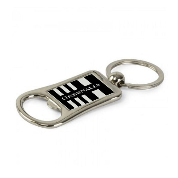 Newcastle Home Shirt 90-91 Geordie Keyring Bottle Opener