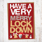 Have A Very Merry Lockdown Christmas Card Blunt Cards