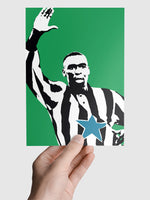 Andy Cole NUFC Geordie Print A5, A4, A3 A2 or A1 Sizes