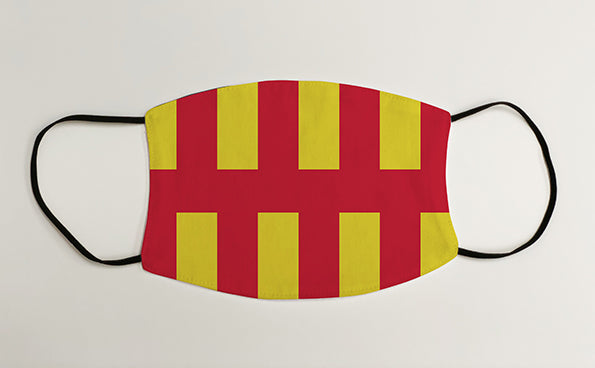 Northumberland Flag Geordie Face Mask Covering