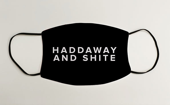 Haddaway And Shite Geordie Face Mask Covering