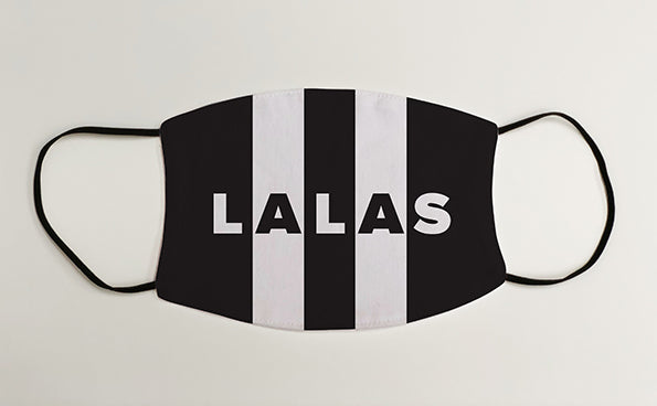Lets All Laugh At Sunderland LALAS NUFC Geordie Face Mask Covering