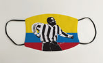 Faustino Asprilla Tino Colombia NUFC Geordie Face Mask Covering