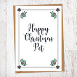 Happy Christmas Pet Christmas Card