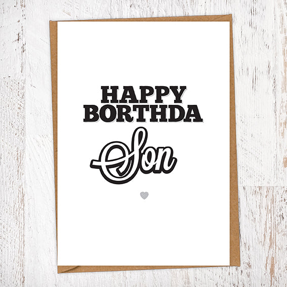 Happy Borthda Son Birthday Card