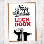 Happy Lockdoon Lockdown Birthday Card