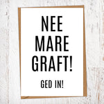 Nee Mare Graft Retirement Card