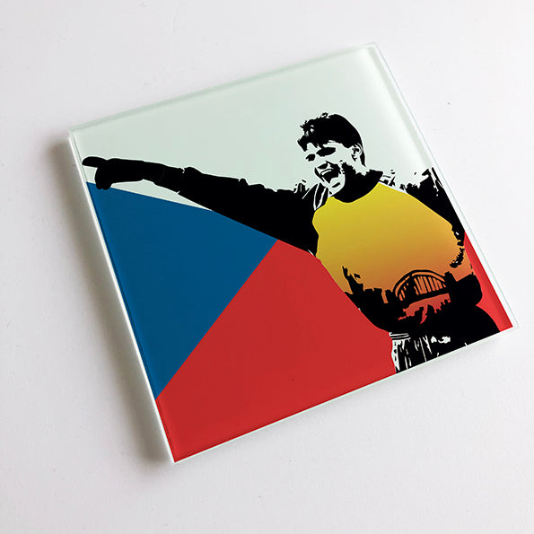 Pavel Srnicek Czechia Czech Republic NUFC Glass Coaster