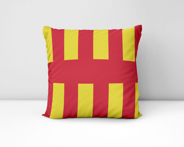 Northumberland Flag Geordie Cushion