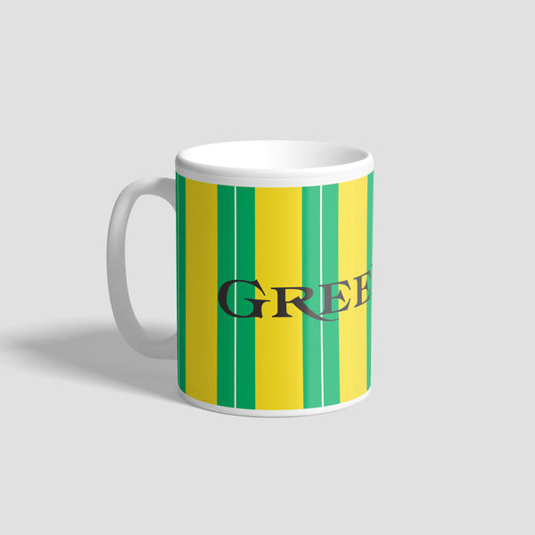 NUFC Away Kit 89-90 Geordie Mug