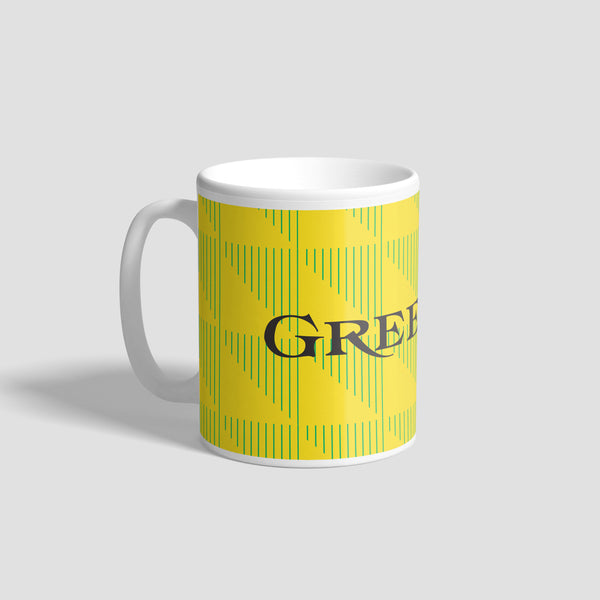 NUFC Away Kit 90-91 Geordie Mug